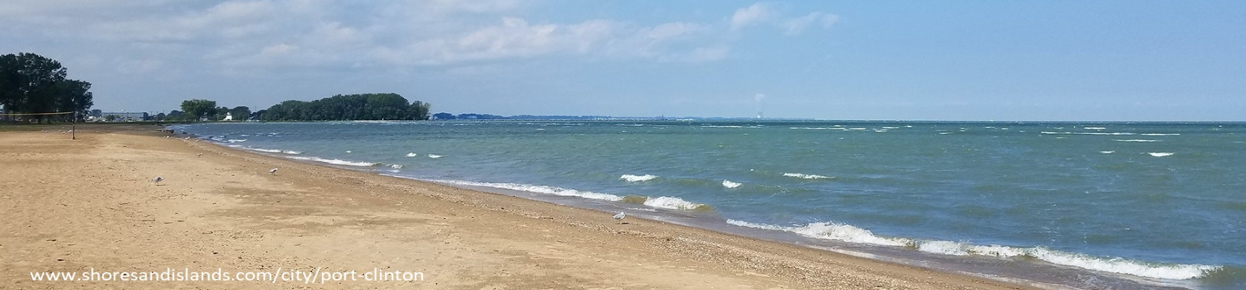 Port Clinton beach